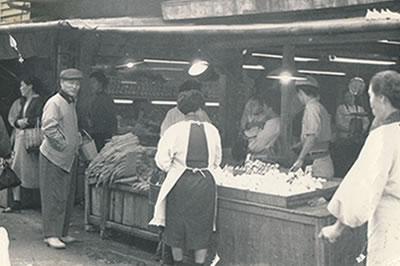 昭和25年頃 八幡東区の店舗